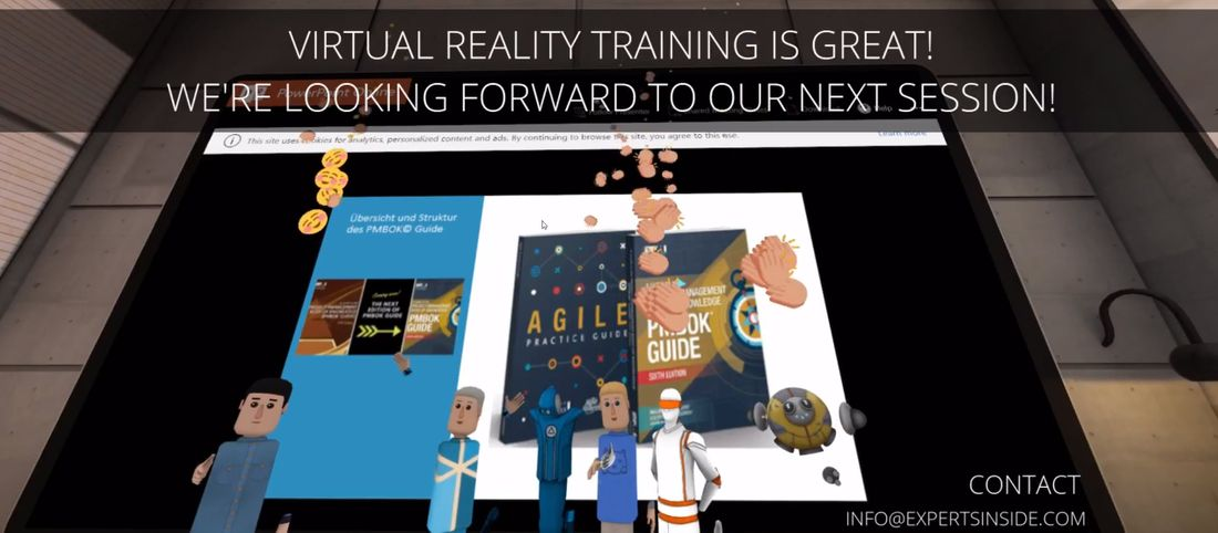 Impressions of my first Virtual Reality training in AltspaceVR